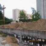 Prace wyburzeniowe przy kościele Podwyższenia Krzyża w Gdyni Wit 071