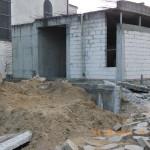 Prace wyburzeniowe przy kościele Podwyższenia Krzyża w Gdyni Wit 072