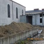 Prace wyburzeniowe przy kościele Podwyższenia Krzyża w Gdyni Wit 074