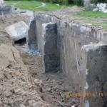 Prace wyburzeniowe przy kościele Podwyższenia Krzyża w Gdyni Wit 077