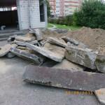 Prace wyburzeniowe przy kościele Podwyższenia Krzyża w Gdyni Wit 079