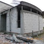 Prace wyburzeniowe przy kościele Podwyższenia Krzyża w Gdyni Wit 081